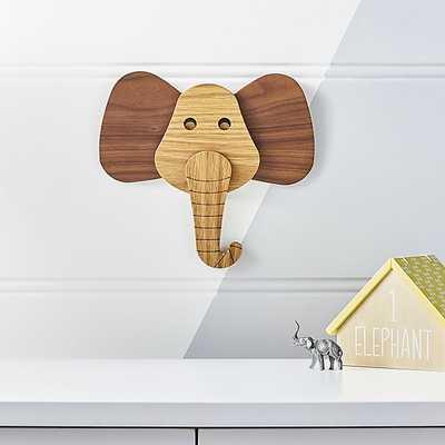Elephant Animal Head Wall Decor - Crate and Barrel