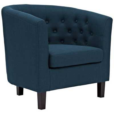 PROSPECT UPHOLSTERED ARMCHAIR IN AZURE - Modway Furniture