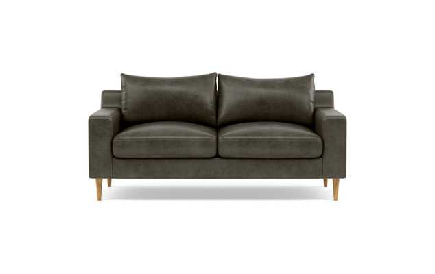 SLOAN LEATHER-Leather Loveseat - Interior Define
