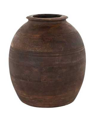 Aged Wood Vase - McGee & Co.