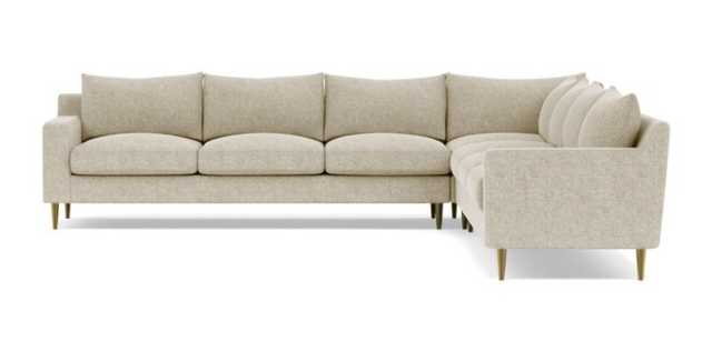 "Sloan 6 Seat Corner Sectional - CUSTOM - 129"" x 129"" - Interior Define"