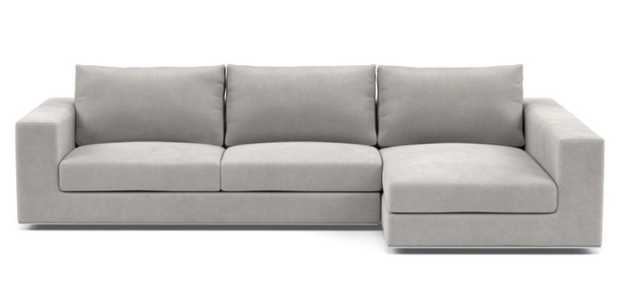 WALTERS Sectional Sofa with Right Chaise - Interior Define