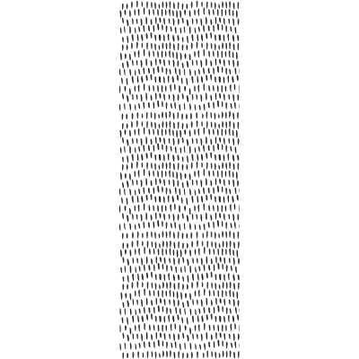 "Lilyanna Removable Short Vertical Brushstrokes 8.33' L x 25"" W Peel and Stick Wallpaper Roll -$5.70/sq. ft. - Wayfair"