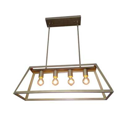 Y Decor 4-Light Antique Bronze Pendant - Home Depot