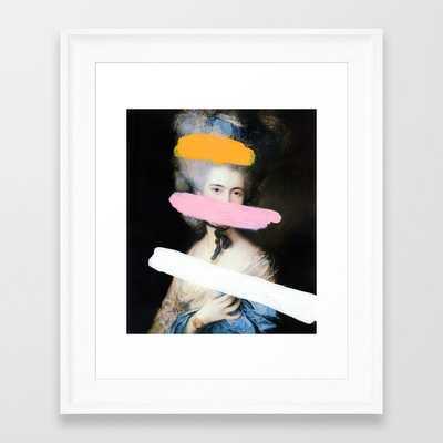 "Brutalized Gainsborough 2 Framed Art Print - 10"" X 12"" - Society6"