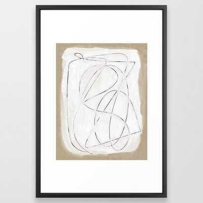 """Format Framed Art Print - 20"""" x 26"""" - Society6"""