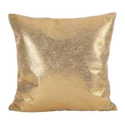 Alejandre Shimmering Metallic Foil Throw Pillow - Wayfair