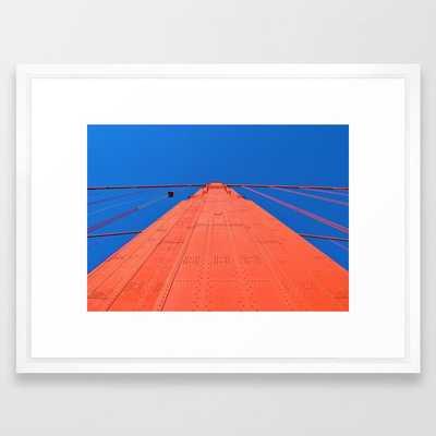 Golden Gate Bridge -- San Francisco Framed Art Print - Society6