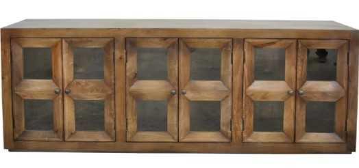 Loon Peak® Loughran 80'' Wide Mango Wood Sideboard - Wayfair