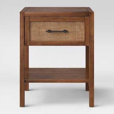 Warwick Wood & Rattan Side Table - Threshold™ - Assembly Required - Target