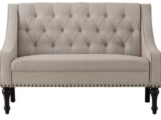 Jamila Tufted Standard Loveseat - Wayfair