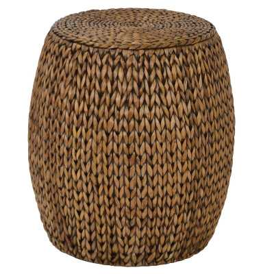 Nobles Drum End Table - Wayfair