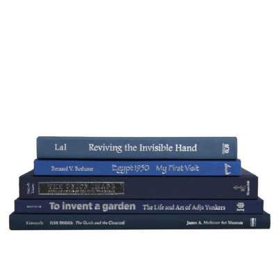 5 PIECE COFFEE TABLE COLORSTAK AUTHENTIC DECORATIVE BOOK SET - Perigold
