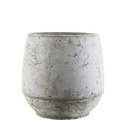 Jourdan Vase, Concrete Gray - Lulu and Georgia