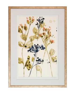 WATERCOLOR BUDS 2 Framed Art - McGee & Co.