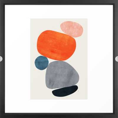 Balance III Framed Art Print 632 by Tracie Andrews - Society6