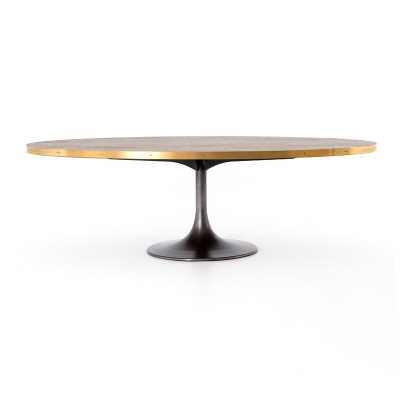 Four Hands Evans Oval Dining Table - Perigold