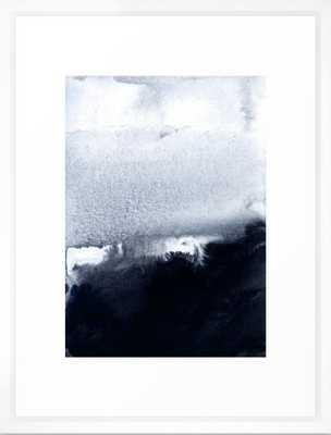 "into the deep 2 Framed Art Print - vector white frame - gallery medium 20"" x 26"" - Society6"