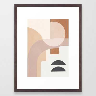 Abstract Minimal Shapes 8 Framed Art Print - Society6