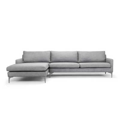 Connor Sectional_ Talent Dark Gray - AllModern
