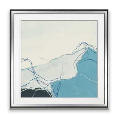 'Blue Peaks I' Painting - Wayfair