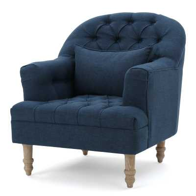 Palafox Tufted Armchair - Wayfair