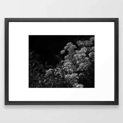 Edelweiss by Moonlight Framed Art Print - Society6