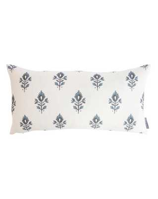 """ADDISON BLOCK PRINT PILLOW WITHOUT INSERT, 12"""" x 24"""" - McGee & Co."""