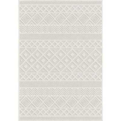 Coulonge Diamond Ivory Indoor/Outdoor Area Rug - Wayfair
