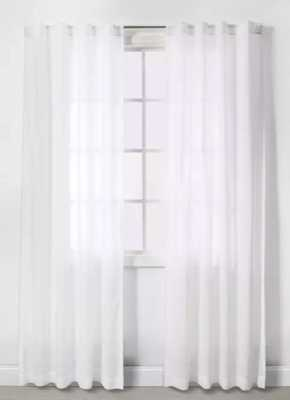 2pk Basics Curtain Panels - Made By Design™ - white - Target
