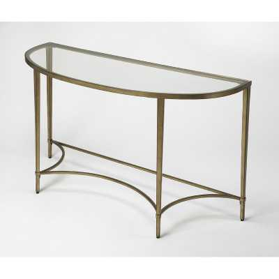 Kaliyah Demilune Console Table - Wayfair