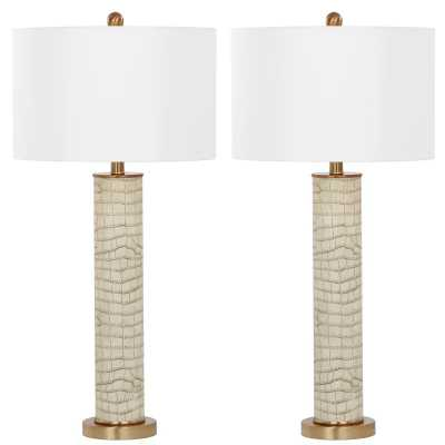 "Moira Metal 32.5"" Table Lamp - Wayfair"