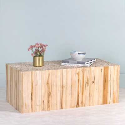 Enoch Teak Coffee Table - Wayfair
