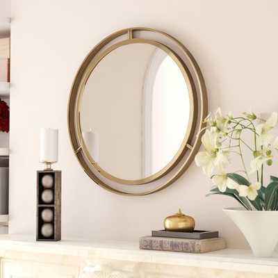 Bandit Round Wall Mirror - Wayfair
