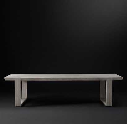 ANTOCCINO RECTANGULAR DINING TABLE - RH