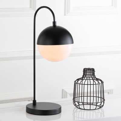 "Annabel 21"" Desk Lamp - Black - Wayfair"