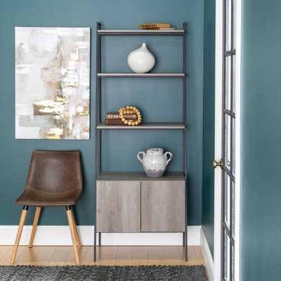 Carbon Loft Lahuri 72-inch Ladder Storage Bookshelf - Grey Wash - Overstock
