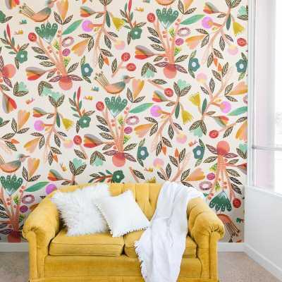 Gabriela Larios Birdsong Wall Mural - Wayfair