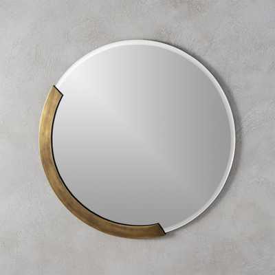 "kit 24"" round mirror - CB2"
