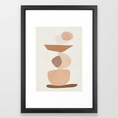 Balancing Elements II Framed Art Print by City Art - Society6