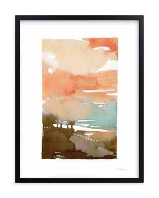"Sunset Fade No 2 - w/ Artist Signature  - 18""x24"" (framed  19.3"" X 25.3"") - Minted"