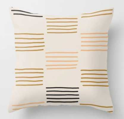Hatches Throw Pillow - Society6