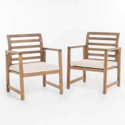 Gaynelle Outdoor Arm Chair with Cushion - Wayfair