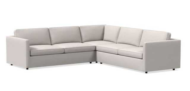 "Harris Sectional Set 14: LA 75"" Sofa, Corner, RA 75"" Sofa, Poly - West Elm"