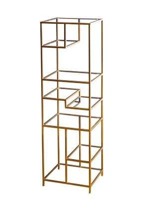 "Osiris 62"" Etagere Bookcase - Wayfair"