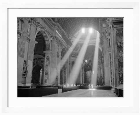 Sunbeams Inside St. Peter's Basilica - art.com