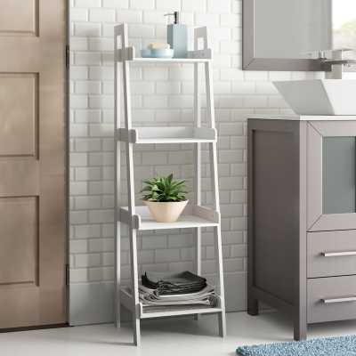 "Hoschton 13"" W x 44"" H Bathroom Shelf - Wayfair"