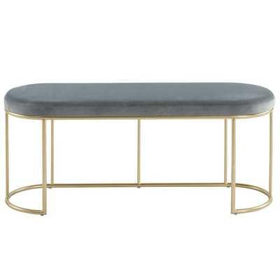 Rendon Upholstered Bench - Wayfair