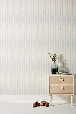 Magnolia Home Handloom Wallpaper -Light grey - Anthropologie