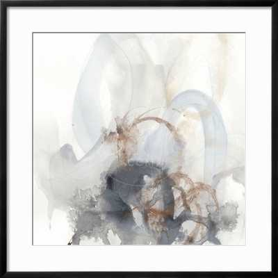 "Supposition II - Chelsea Black Frame - 24"" x 24"" -  3.0"" Crisp - Bright White Mat - Acrylic: Clear - art.com"